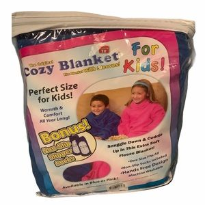 The Original Cozy Blanket w/ Sleeves & Socks